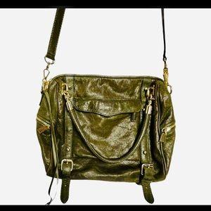 Rebecca Minkoff Bag Cupid Satchel&Crossbody Green